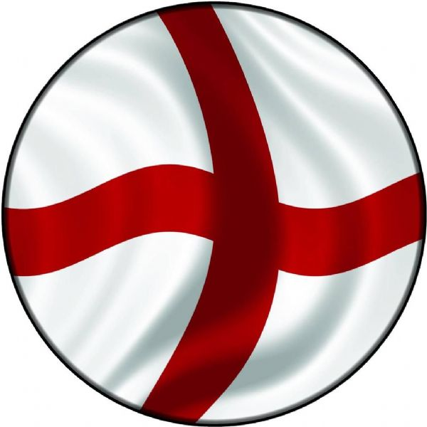 ENGLAND FLAG 4x4 Semi-Rigid Spare Wheel Cover
